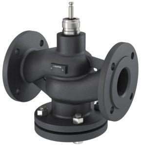 2-way flanged valve, PN 16